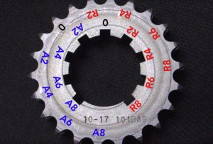 9 keyway crank sprocket