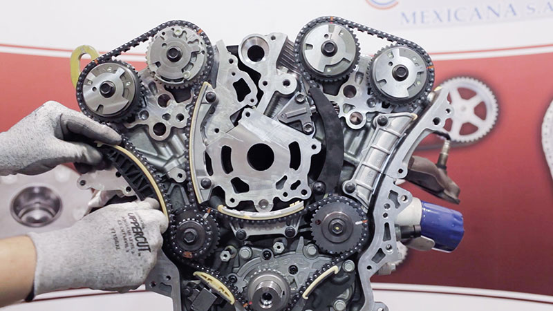 timing chain testing and development